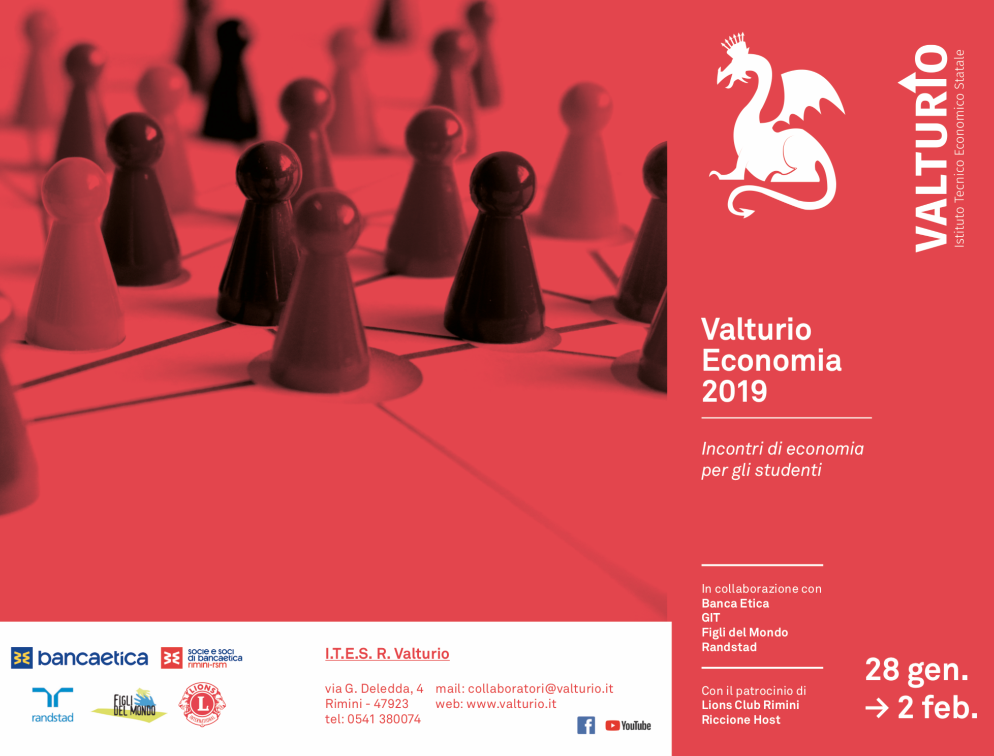 Valturio €conomy Week 2019: incontri e workshop di economia per gli studenti